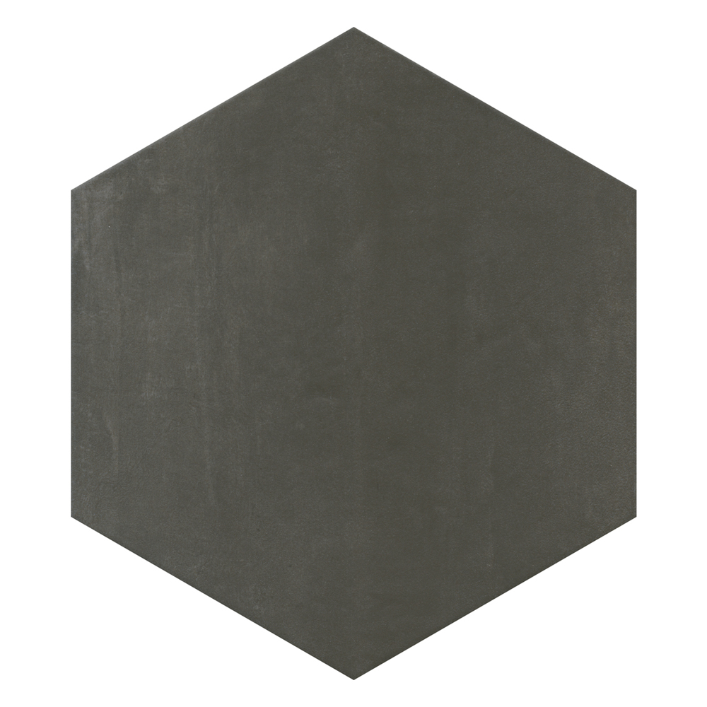 Vista Hexagon Anthracite Wall Tiles - 30 x 38cm Large Image