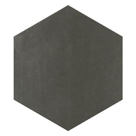 Vista Hexagon Anthracite Wall Tiles - 30 x 38cm
