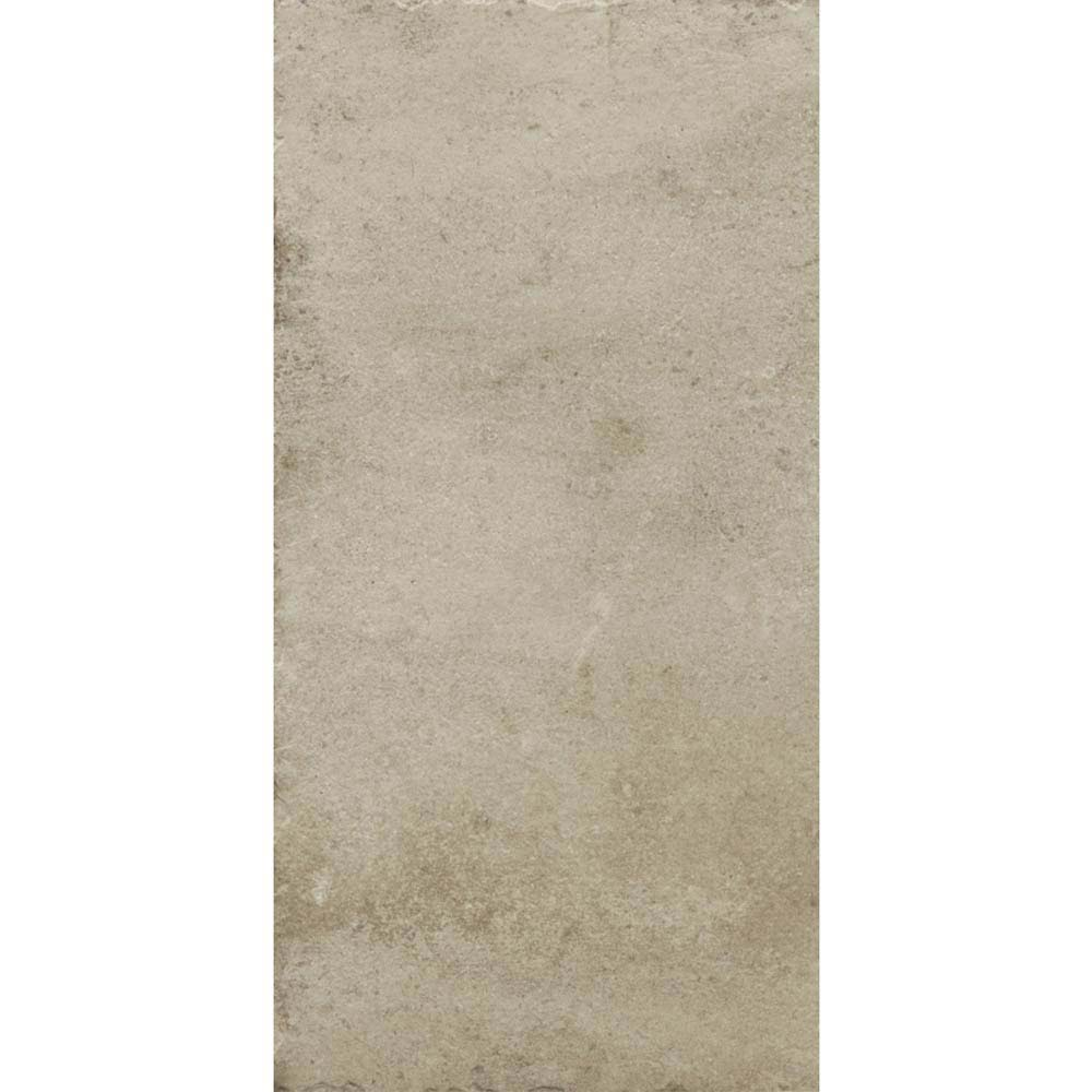 Sienna Cream Textured Stone Effect Matt Floor Tiles - 30 x 60cm  Profile Large Image