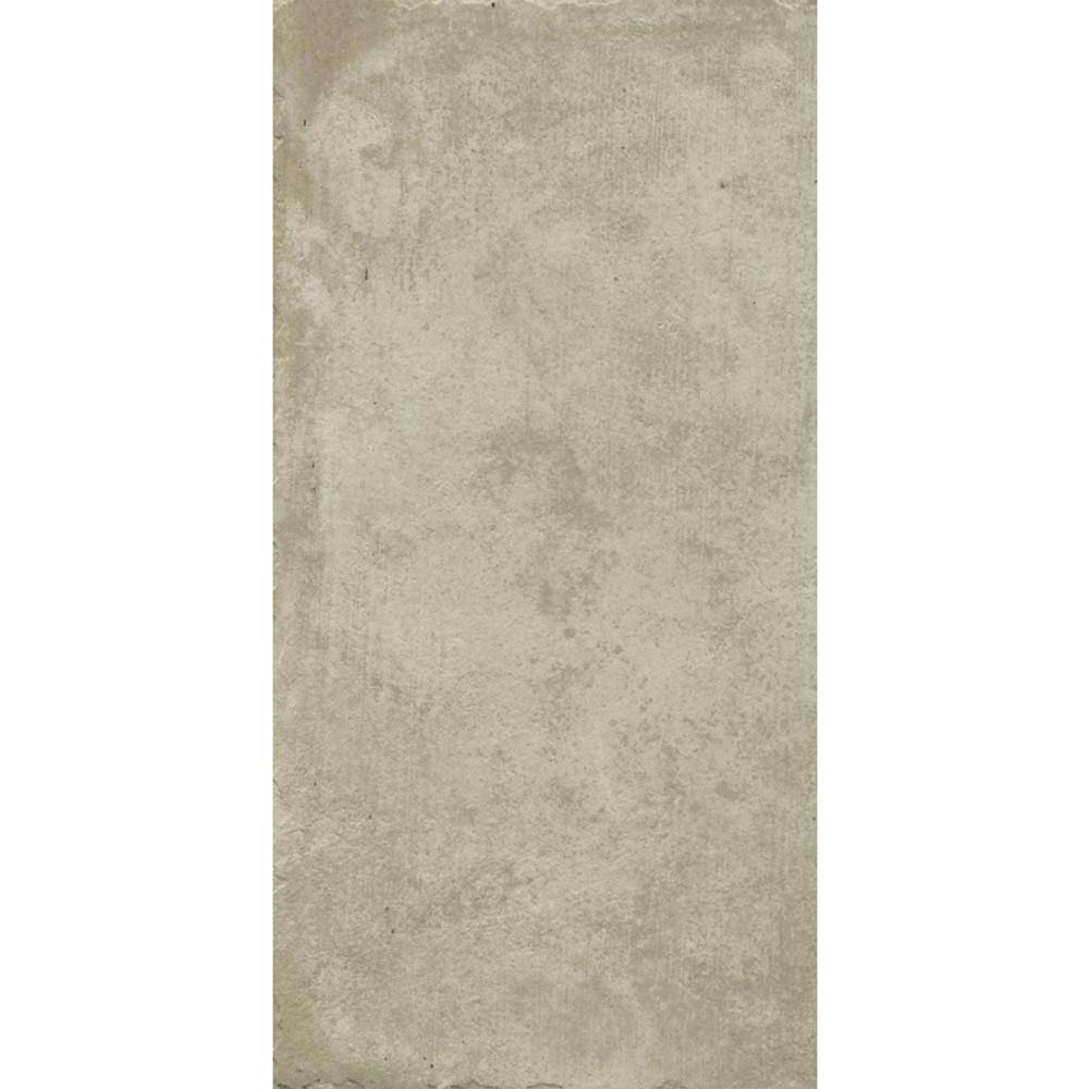 Sienna Cream Textured Stone Effect Matt Floor Tiles - 30 x 60cm  Standard Large Image