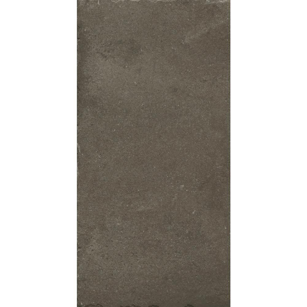 Sienna Mocha Textured Stone Effect Matt Floor Tiles - 30 x 60cm  Feature Large Image