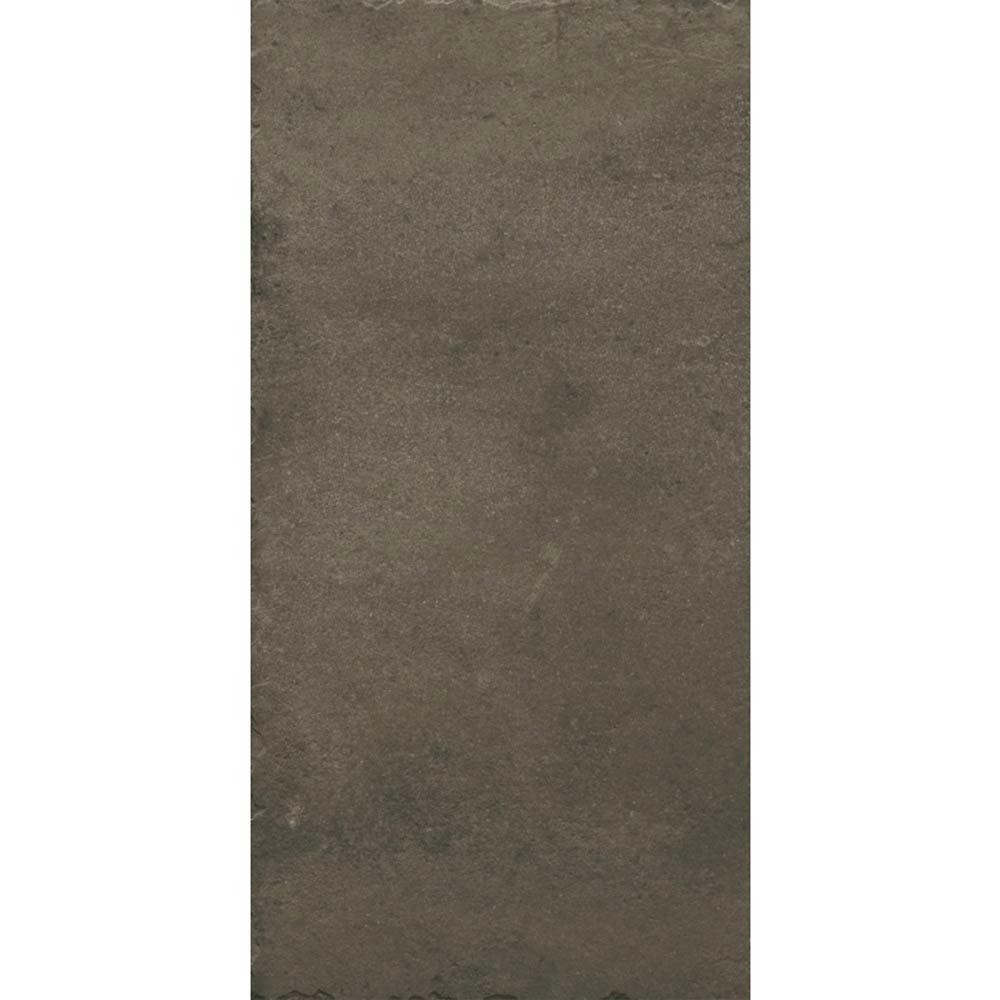 Sienna Mocha Textured Stone Effect Matt Floor Tiles - 30 x 60cm  Standard Large Image