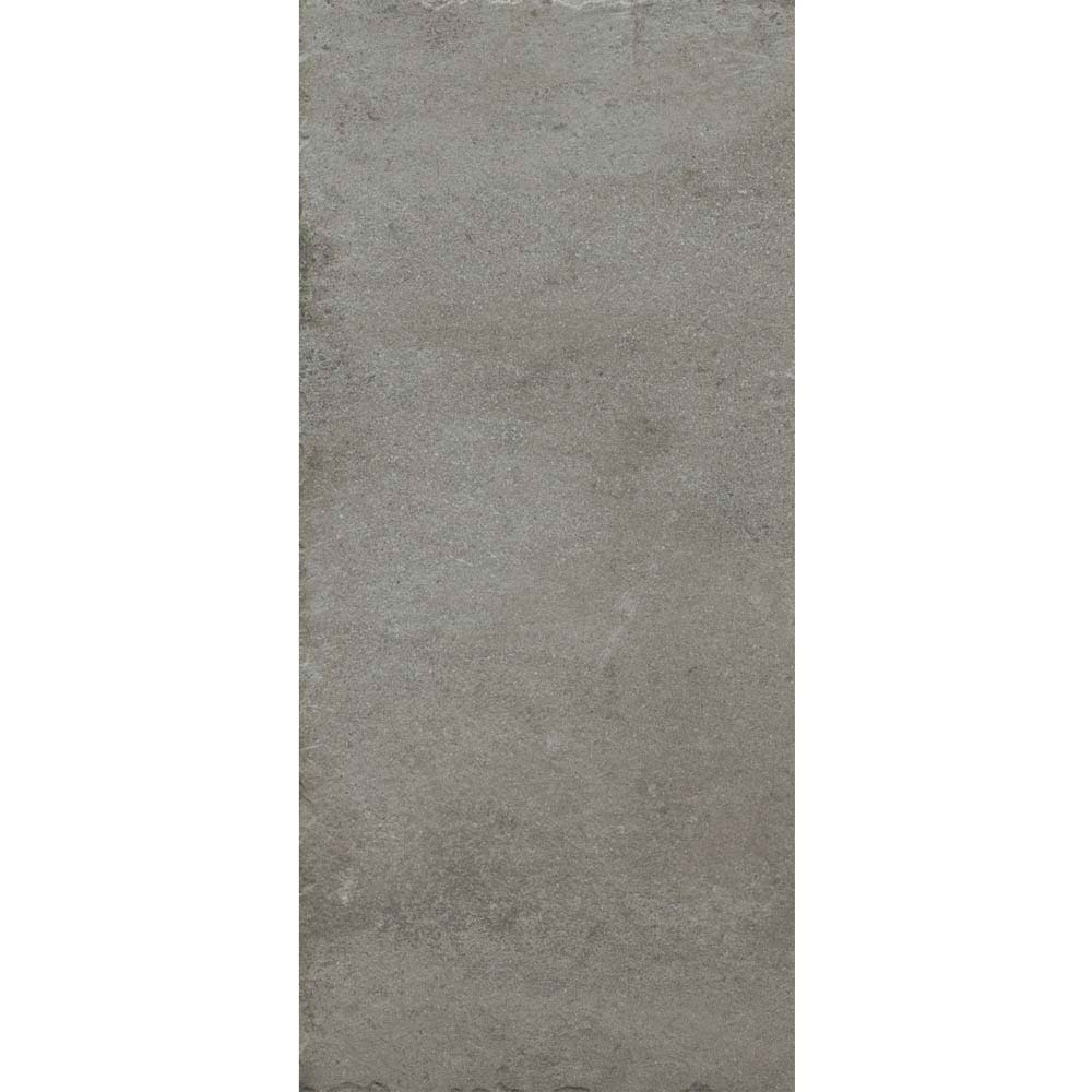 Sienna Grey Textured Stone Effect Matt Floor Tiles - 30 x 60cm  Profile Large Image