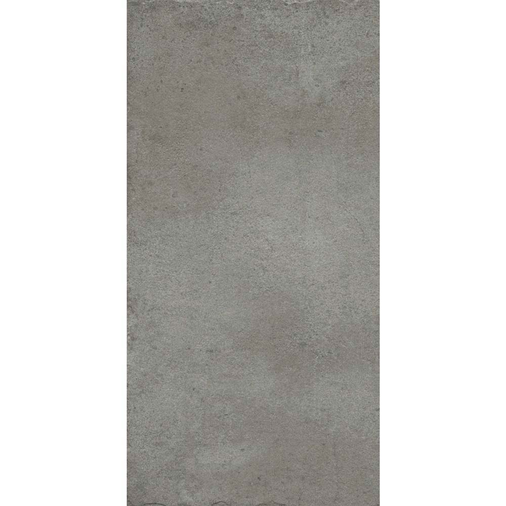 Sienna Grey Textured Stone Effect Matt Floor Tiles - 30 x 60cm  additional Large Image