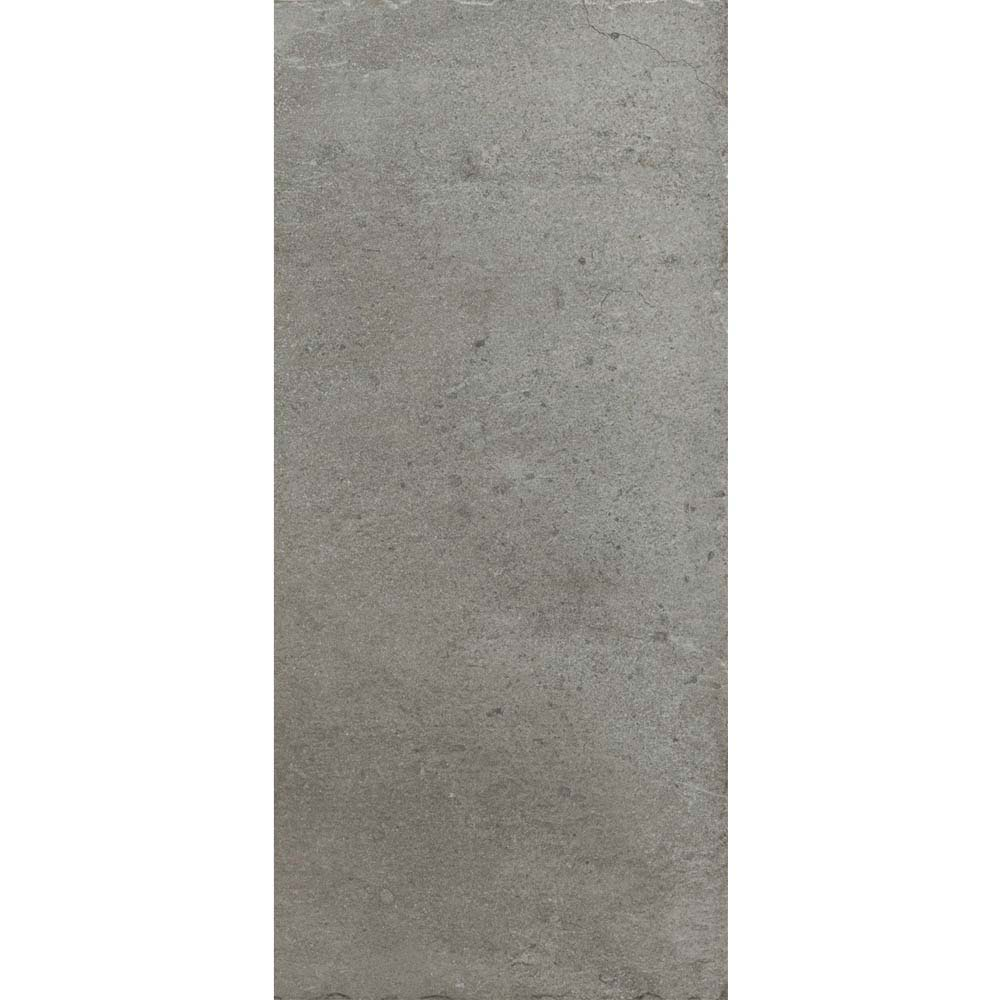 Sienna Grey Textured Stone Effect Matt Floor Tiles - 30 x 60cm  Newest Large Image