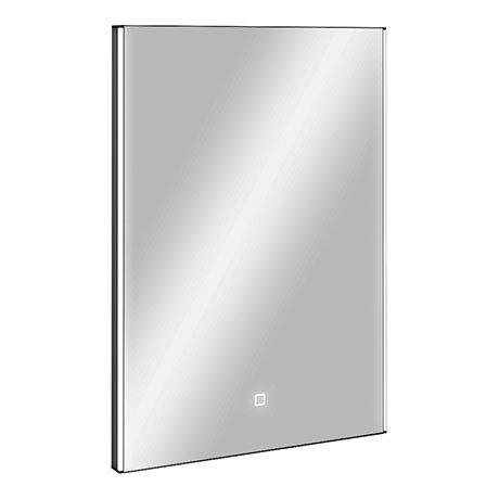Turin 500x700mm LED Illuminated Mirror Inc. Touch Sensor - GS112