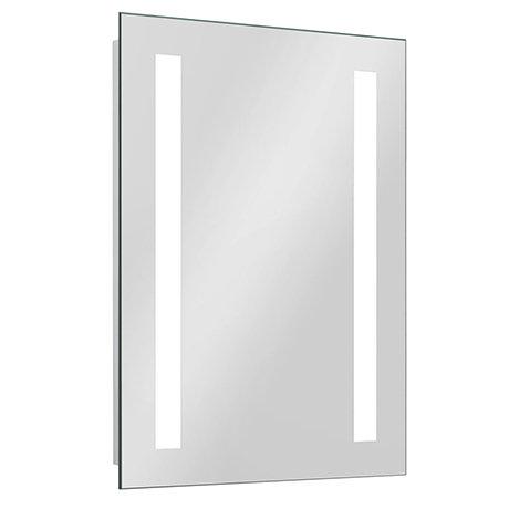 Brooklyn 390 x 500mm Battery Operated Illuminated LED Mirror