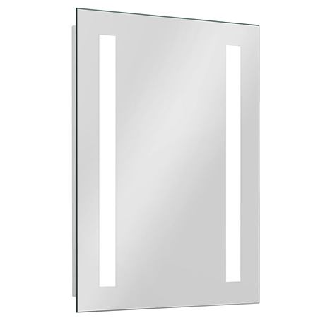 Brooklyn 500 x 700mm Battery Operated Illuminated LED Mirror