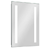 Brooklyn 500 x 700mm Battery Operated Illuminated LED Mirror profile small image view 1