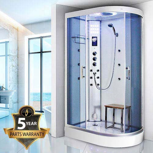 Insignia - 1200mm Steam Shower Cabin with White Backwalls - GT5000W Large Image