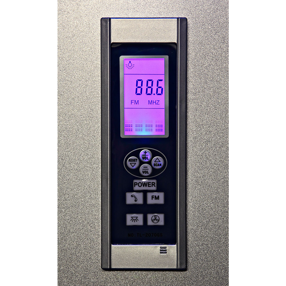 Insignia - Hydro-Massage Shower Cabin - GT8721 Profile Large Image