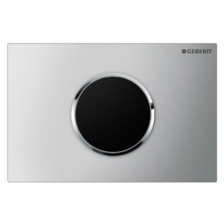 Geberit Sigma10 Matt + Gloss Chrome Touchless Automatic Flush for UP320 Cistern