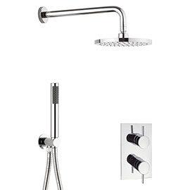 Crosswater Kai 2 Outlet 2-Handle Shower Bundle
