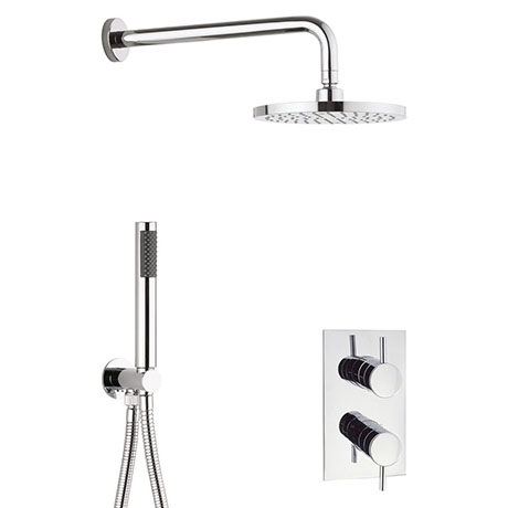 Crosswater Kai 2 Outlet 2-Handle Shower Bundle