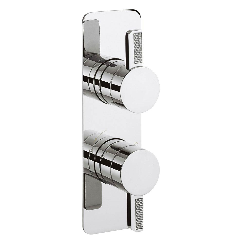Crosswater Glitter Thermostatic Shower Valve - GZ1000RC Large Image