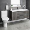 Galloway 4 Piece Bathroom Suite profile small image view 1