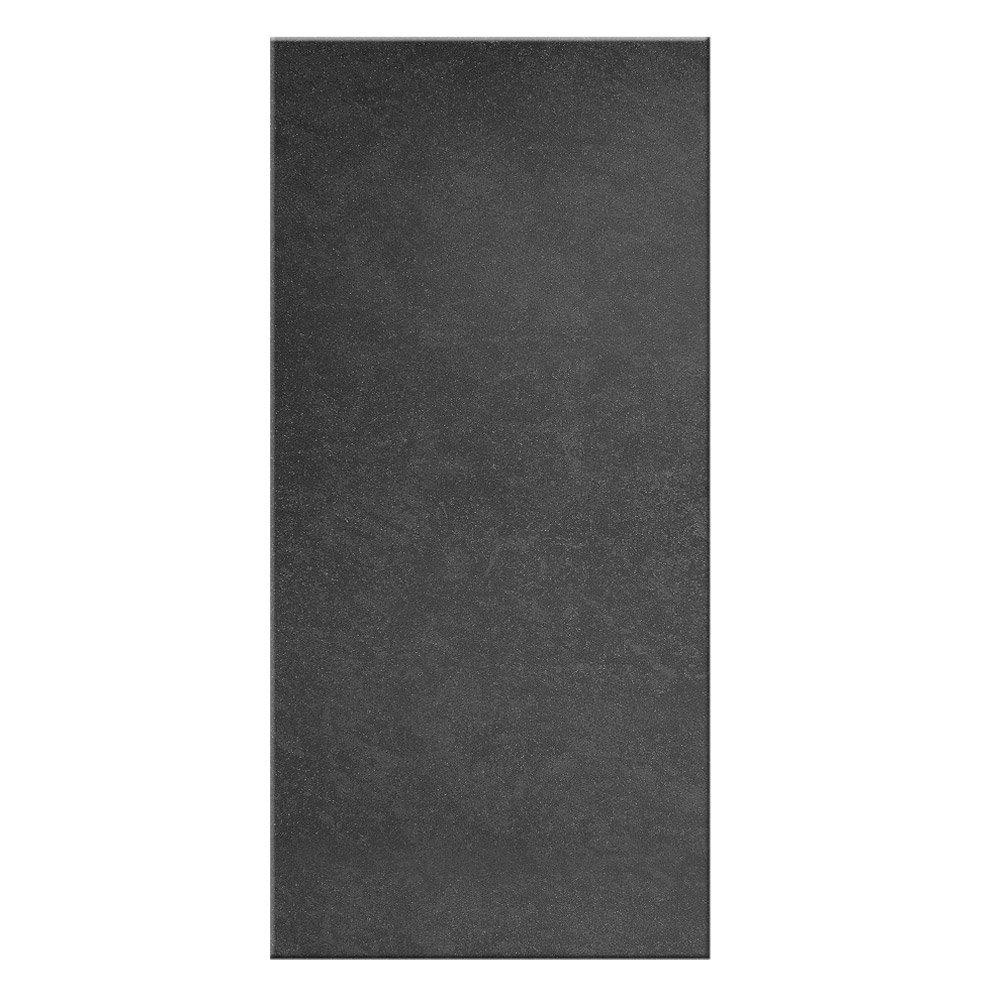 Garda Black Porcelain Wall Tiles - 303 x 613mm Large Image
