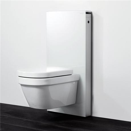 geberit monolith wc frame cistern for wall hung wc 39 s white aluminium at victorian plumbing uk. Black Bedroom Furniture Sets. Home Design Ideas