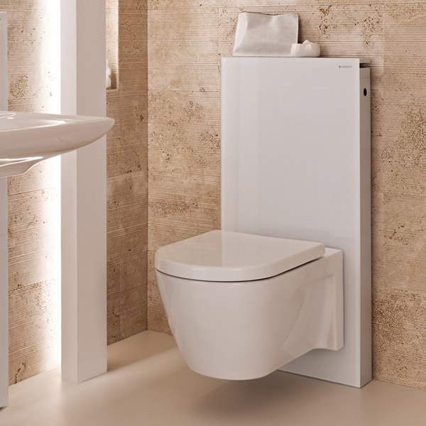 geberit monolith wc frame cistern for wall hung wc 39 s. Black Bedroom Furniture Sets. Home Design Ideas