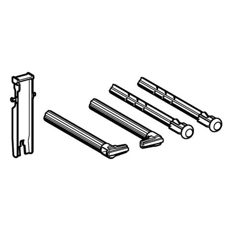 Geberit Push/Distance Rod Set for Sigma Dual Flush Plate - 241.874.00.1