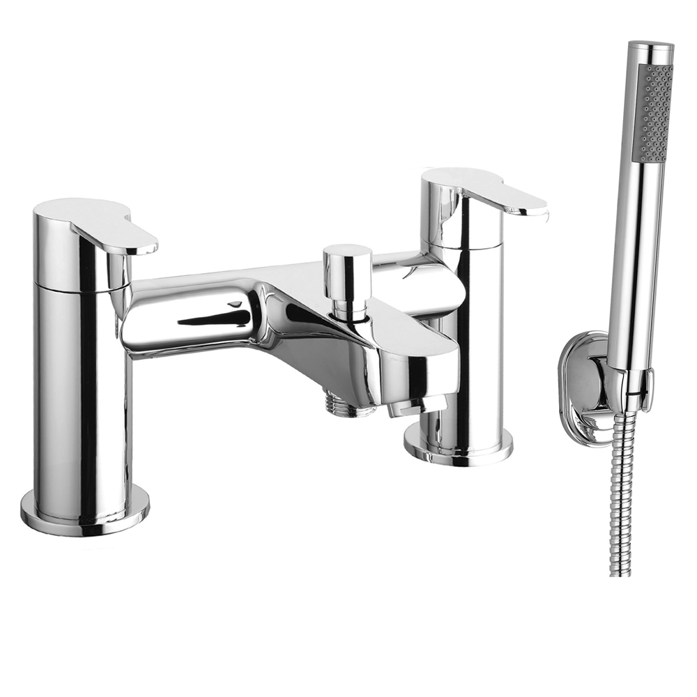 Gio Modern Bath Shower Mixer Taps profile large image view 1