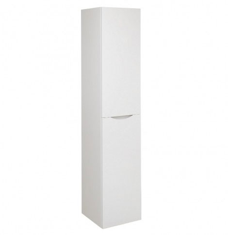 Bauhaus - Glide II Wall Hung Tower Unit - White Gloss - GL3516FWG Large Image