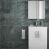 Grado Anthracite Tile (Matt Textured - 600 x 300mm) Small Image