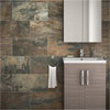 Grado Brown Tile (Matt Textured - 600 x 300mm) Small Image