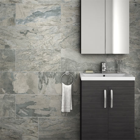 Grado Grey Tile (Matt Textured - 600 x 300mm)