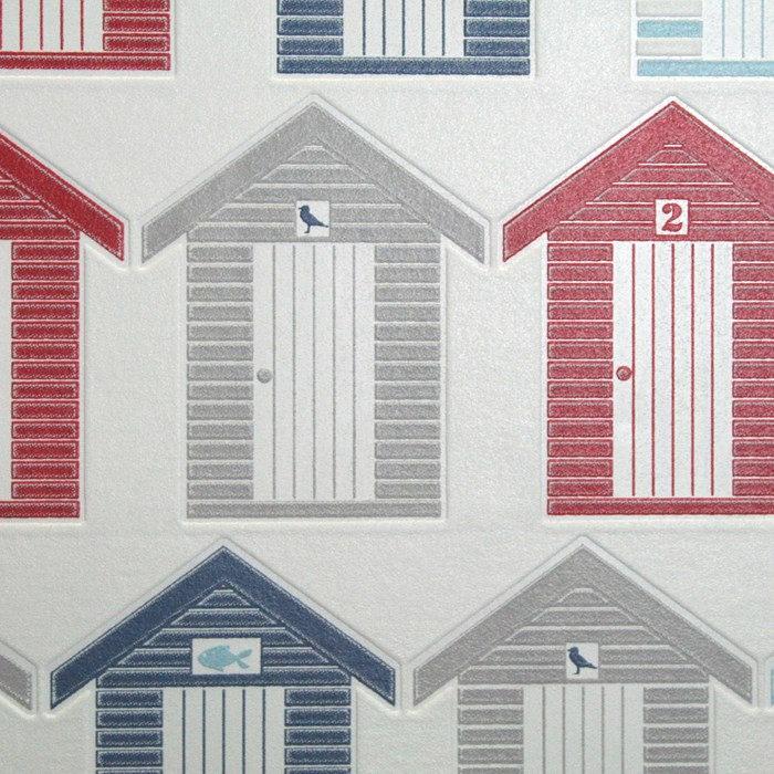 Graham & Brown - Beside the seaside Bathroom Wallpaper - 20-272 profile large image view 3
