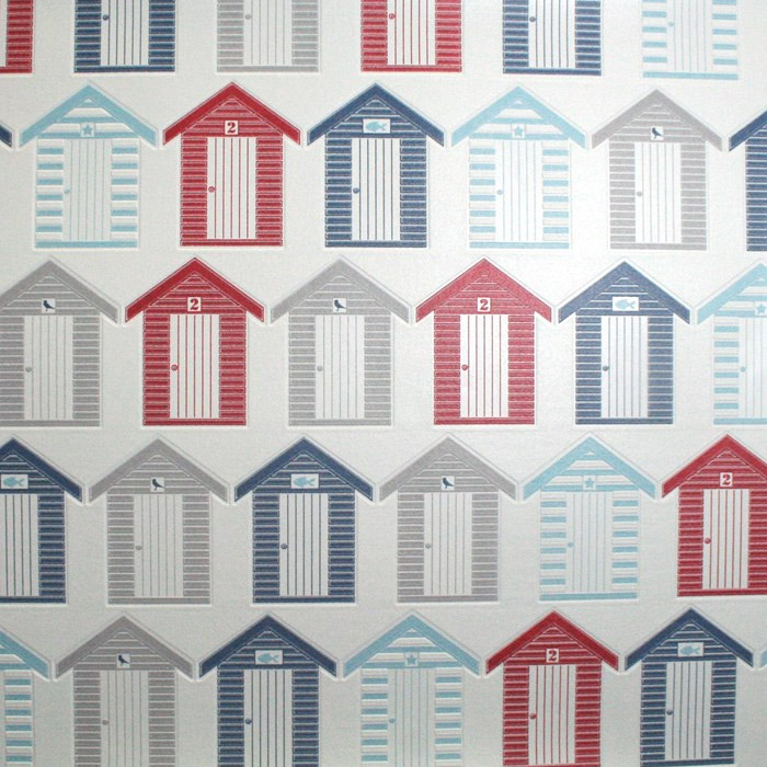 Graham & Brown - Beside the seaside Bathroom Wallpaper - 20-272 Large Image