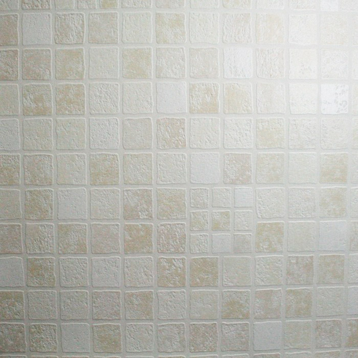 Graham & Brown - Earthen Cream Bathroom Wallpaper - 16617 Profile Large Image