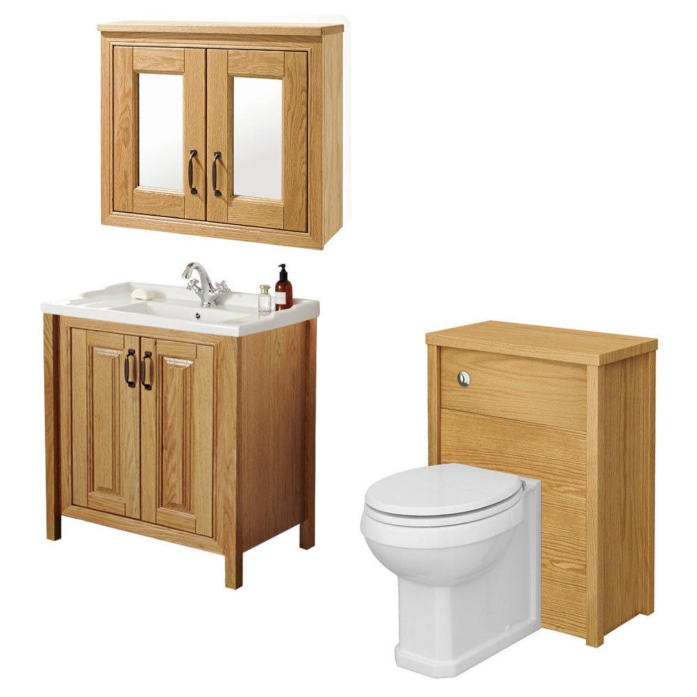 traditional bathroom mirror basin - photo #24