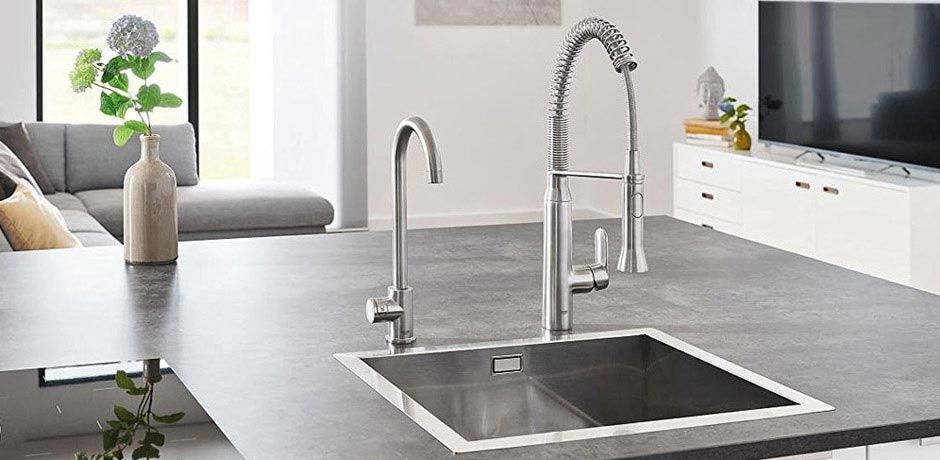 victorian plumbing launches grohe blue home range. Black Bedroom Furniture Sets. Home Design Ideas