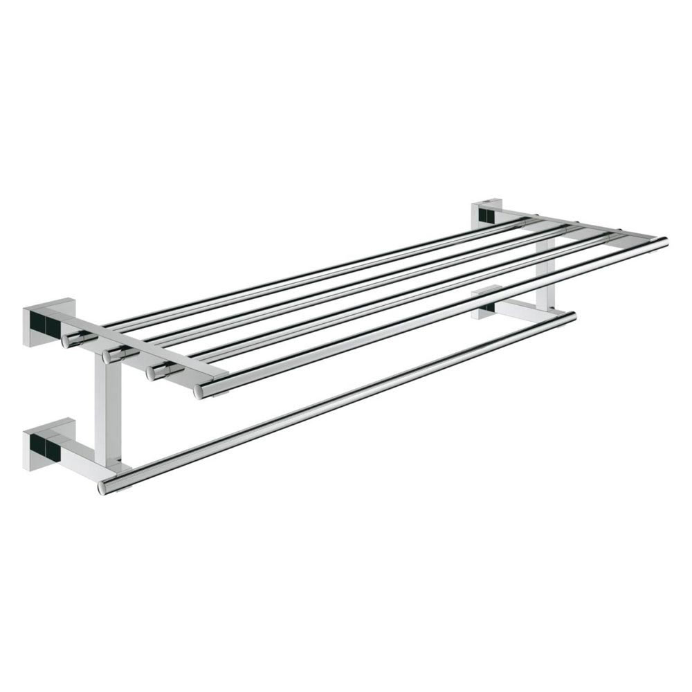 Grohe Essentials Cube 600mm Multi Towel Rack - 40512001 profile large image view 1