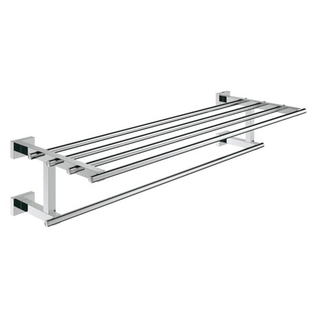 Grohe Essentials Cube 600mm Multi Towel Rack - 40512001