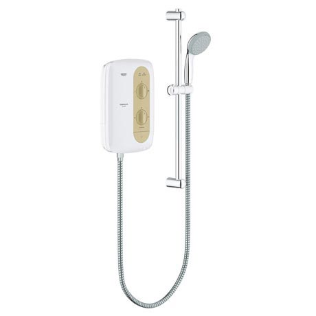 Grohe New Tempesta 100 9.5kW Pressure Stabilized Electric Shower - Natural Sandstone - 26222000