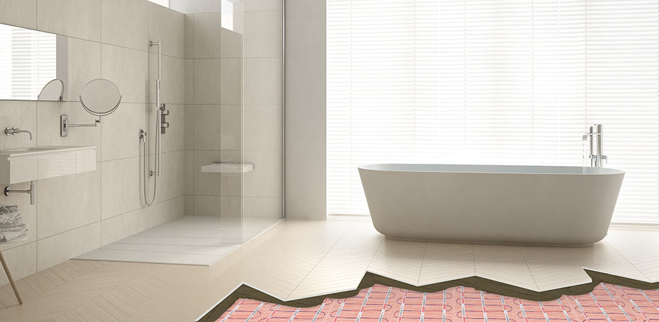 Guide to Underfloor Heating in Bathrooms