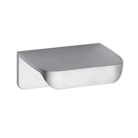 Hudson Reed Small Rear Fixed Chrome Furniture Handle (50 x 37 x 21mm) - H050