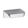 Hudson Reed Small Rear Fixed Chrome Furniture Handle (50 x 37 x 21mm) - H050 profile small image view 1
