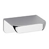 Hudson Reed Small Rear Fixed Chrome Furniture Handle (50 x 37 x 21mm) - H050 Medium Image