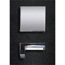 Hudson Reed Square Chrome Furniture Handle (50 x 23mm) - H098 Medium Image
