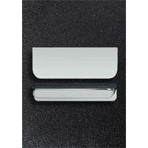 Hudson Reed Large Rear Fixed Chrome Furniture Handle (100 x 37 x 21mm) - H100 Medium Image