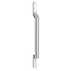 1 x York Chrome Round Strap Additional Handle - L200mm (128mm Centres) profile small image view 1