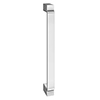 1 x York Chrome Art Deco Strap Additional Handle - L172mm (158mm Centres) profile small image view 1