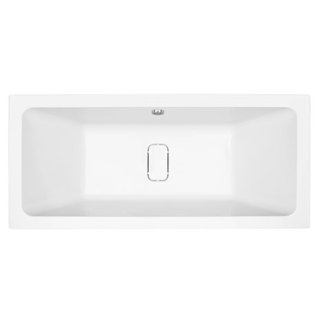 Harmony Double Ended Bath with Hidden Waste Cover