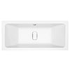Harmony Double Ended Bath with Hidden Waste Cover profile small image view 1
