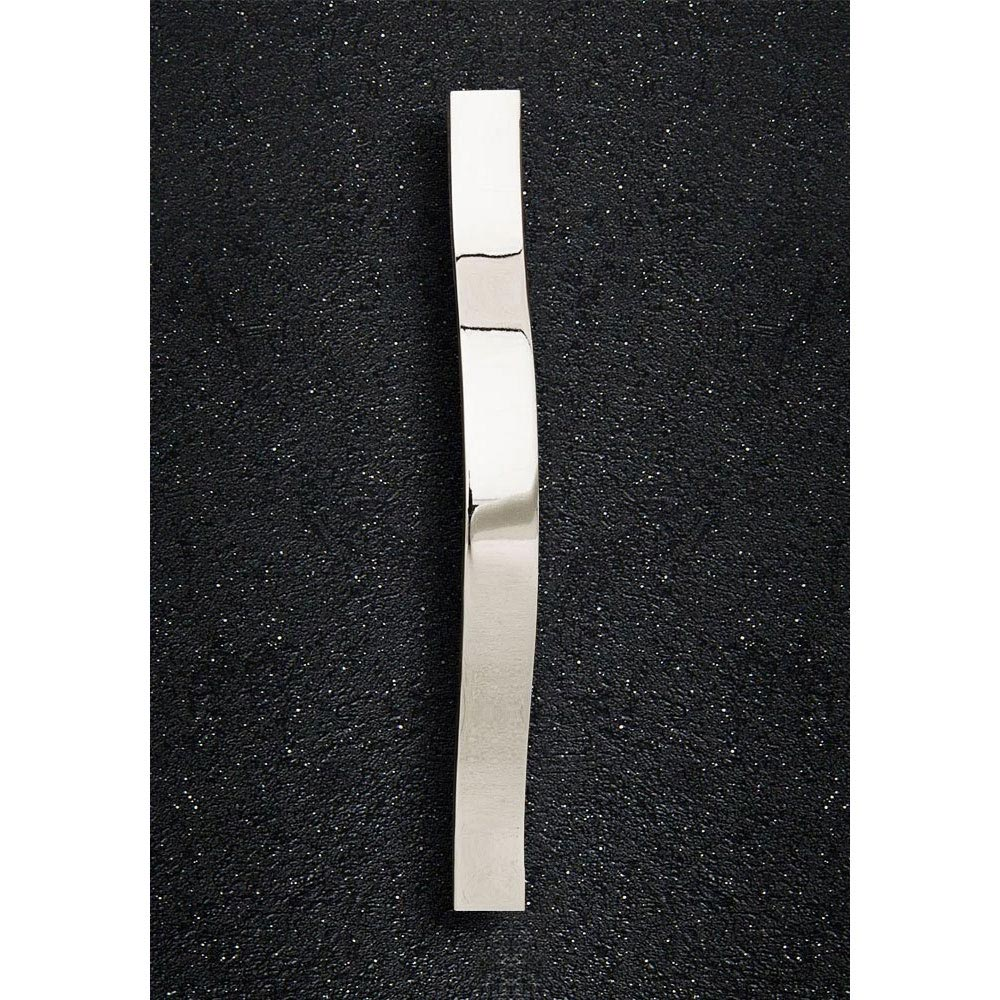 Hudson Reed Strap Chrome Furniture Handle (192 x 24mm) - H251 profile large image view 1