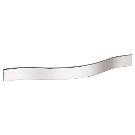 Hudson Reed Strap Chrome Furniture Handle (192 x 24mm) - H251