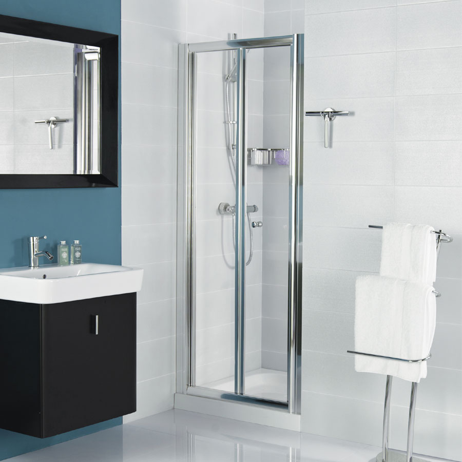 Roman Haven Bi-Fold Shower Door Large Image